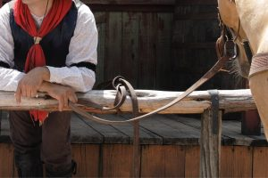 Building A Hitching Rail For Horses
